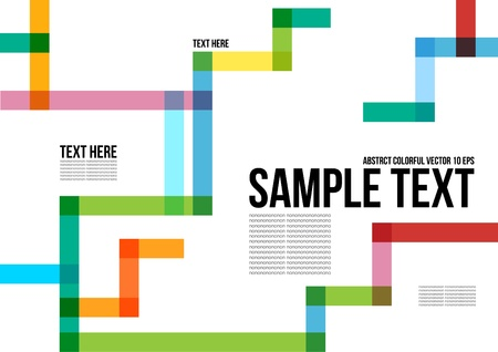 Abstract Colorful Pattern   Background , Cover , Layout , Magazine, Brochure , Poster , Website , Name card , etc  Illustration