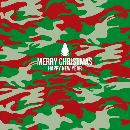 Military camouflage and Merry christmas background, Cover , Layout , Magazine, Brochure , Poster , Website , Name card etc