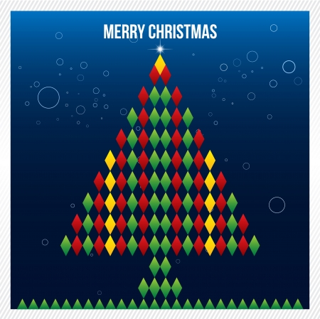 Merry Christmas Abstract Triangle Pattern  Background , Cover , Layout , Magazine, Brochure , Poster , Website , Name card , etc  Illustration
