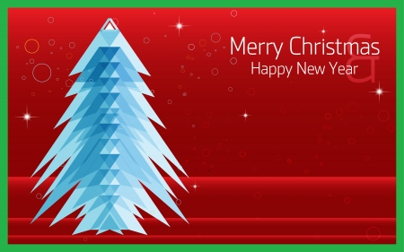 Merry Christmas   Happy new year, Abstract Triangle Pattern  Background , Cover , Layout , Magazine, Brochure , Poster , Website , Name card , etc  Illustration