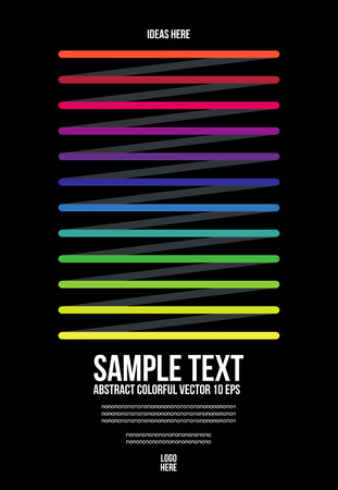 Abstract Colorful Pattern. Background , Cover , Layout , Magazine, Brochure , Poster , Website , Name card , etc.