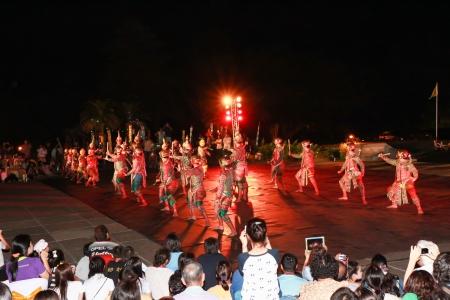 Khon o bailar enmascarado tailand�s