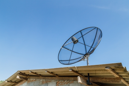 satellite on roof