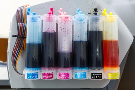 inkjet printer: color tank on inkjet printer