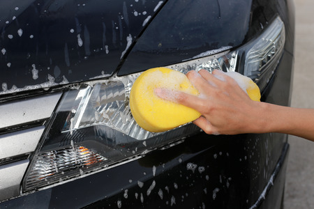 Wash Lights.hand hold sponge for washing