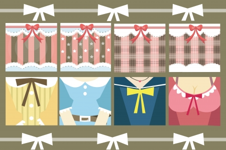 Sweet background for party  gift wrapping Vector
