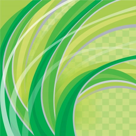 green abstract background Stock Vector - 18485173