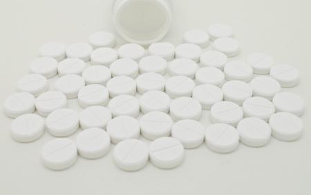 paracetamol tablets Stock Photo