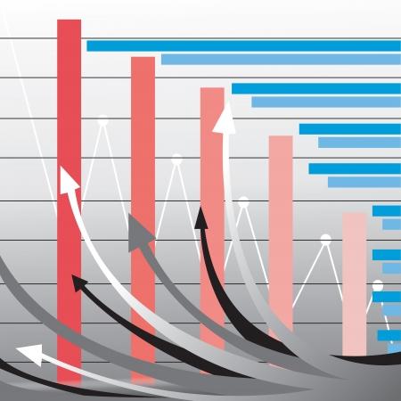 staaf diagram: zakelijke staafdiagram