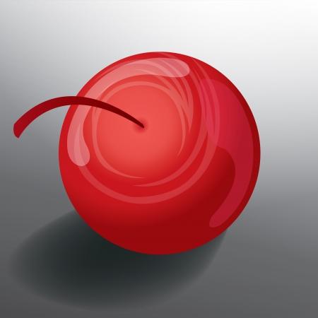 cherry in vector format