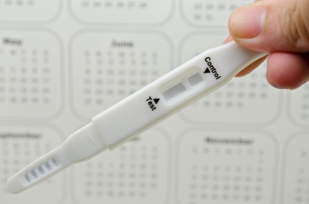 pregnancy test  Stock Photo