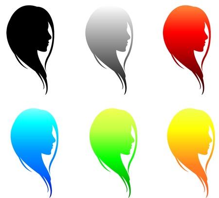colorful girl s facial collection set