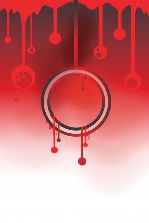 dripping blood background can be used for horror concept