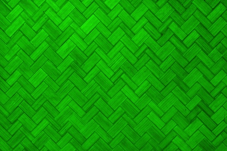 Texture of Light green  color paint weave wall for background  photo