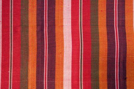 Patterns on the loin cloth produced in Thailand  photo