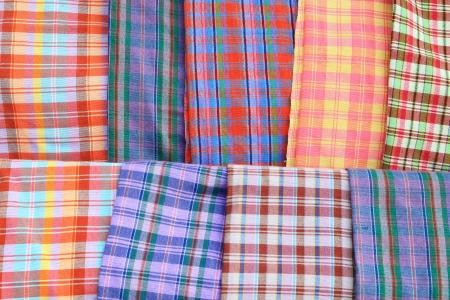 Cotton colorful thailand photo