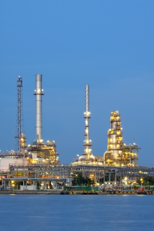 closeup of petrochemical oil refinery factory pipeline Stock Photo - 15229118