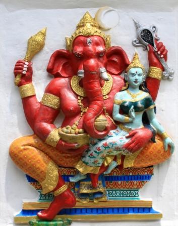 ganapati: Hindu Vara Ganapati at temple in thailand