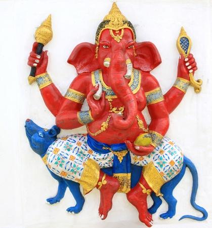 ganapati: Hindu Vijaya Ganapati at temple in thailand