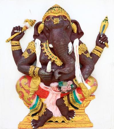 parvati: Hindu Kasipra Ganapati at temple in thailand