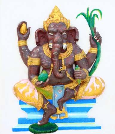 Hindu Bala Ganapati at temple in thailand Stock Photo - 15550666
