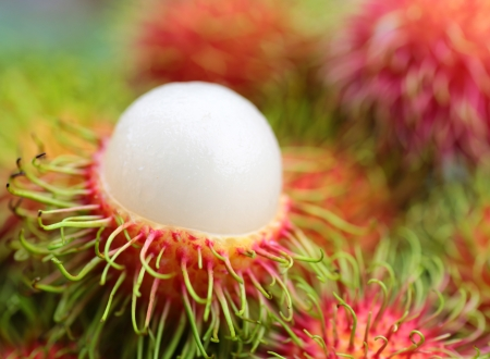 asian  fruit rambutan