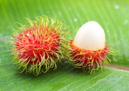 asian  fruit rambutan from Thailand photo