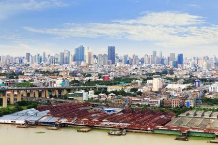 praya: city of Bangkok along Chao Praya River