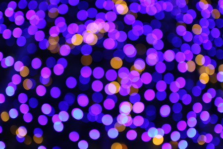 brightness: Beautiful bokeh background light from the lamp in festivals