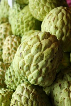 chirimoya: Frutas tailandesas - chirimoyas Foto de archivo