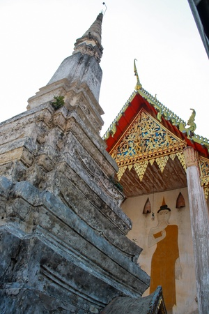 Wat Bang Khae Yai in Samut Songkhram Thailand  photo