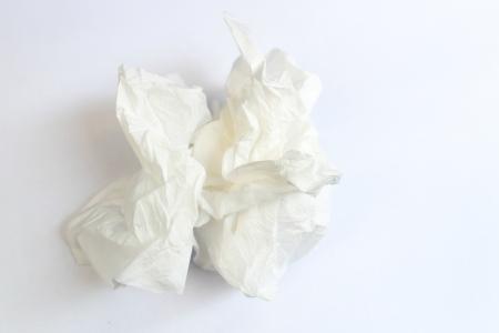 A white tissue photo
