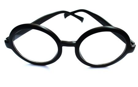 Eyeglasses on Isolated White Background photo
