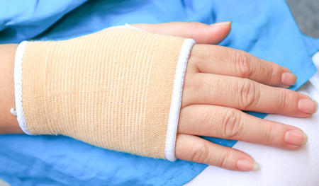 elbow bandage support: Trauma of wrist with brace ,wrist support