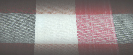 opacity: Colorful checkered loincloth fabric background is opacity image