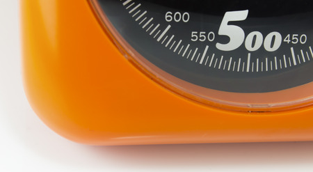 weighing: weighing scales Stock Photo