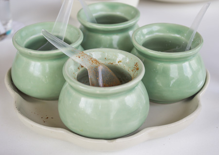 flavouring: Thai flavouring in the green cup