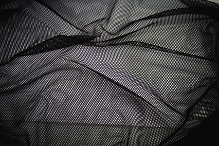 netting: Netting bag black Fabric Texture with background Stock Photo