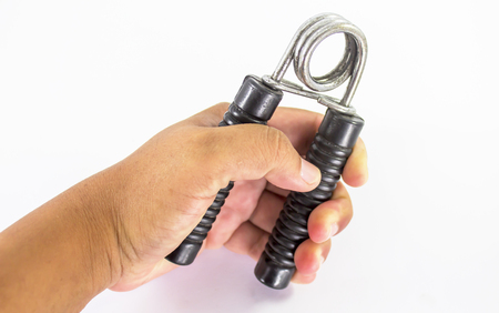 gripper: Sport equipment ,Hand Gripper in hand