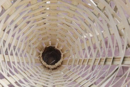 Bamboo product at thailand photo