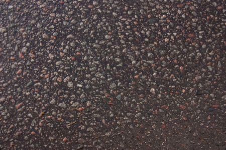 Texture of the wet asphalt photo