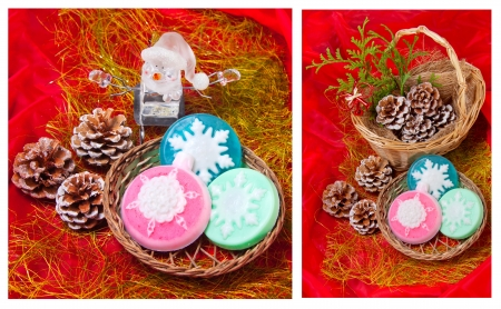 Handmade soap christmas gifts stock photo picture and royalty handmade soap christmas gifts stock photo 16383710 negle Image collections