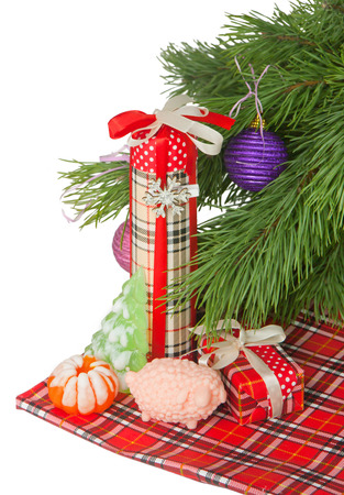 handmade soap: Christmas  Handmade Soap and gifts Stock Photo
