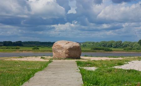 princely: Princely stone. Rurikovo Gorodische Russia