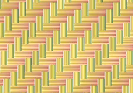 Bamboo weave seamless background 向量圖像