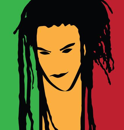 dreadlocks: rastaman