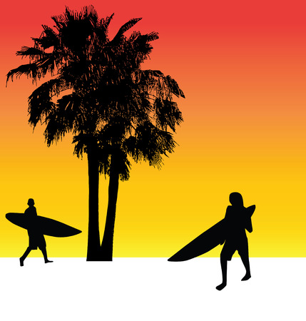 vectored: surfers paradise