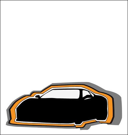CAR VINTAGE Vector