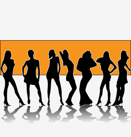 fashion group Illustration