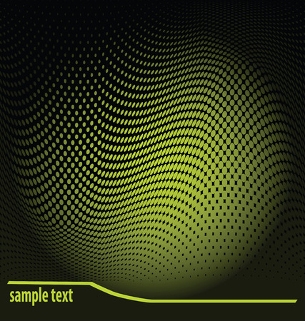 dotted background with sample text Vector